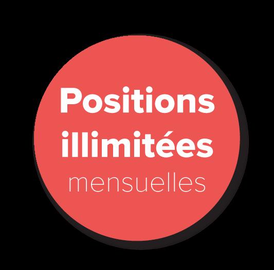 Positions illimitées
