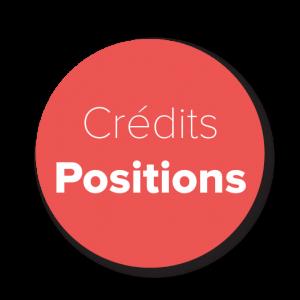 Crédits Positions
