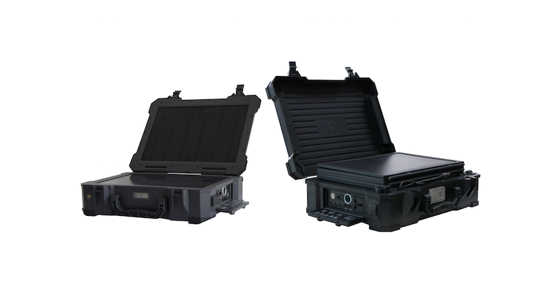 WiFi Solar Cases 20Ah et 50Ah