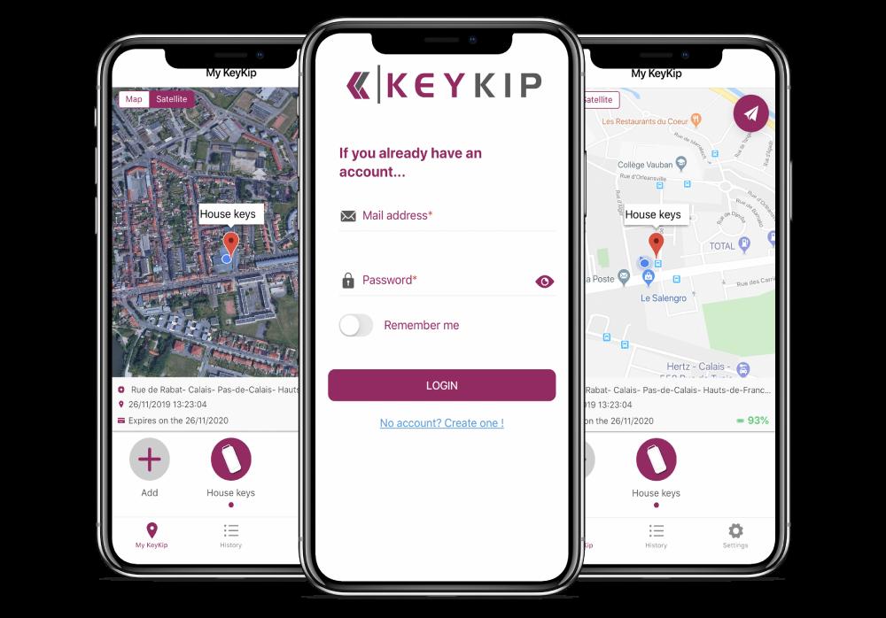 Traceur GPS KeyKip